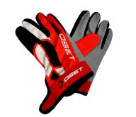 OSET Riding Gloves 'PRO' Range (Red)